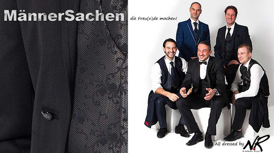 Saarland Männermode: festliche Anzüge, aktuelle Herrenmode